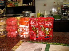 Here you can get your Washboard Waffle & Pancake Mix!
